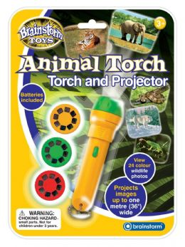 *Brand New* Brainstorm Learning Toys Animal Torch and Projector FREE P&P UK